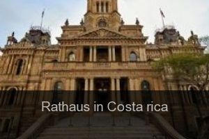 Rathaus in Costa rica