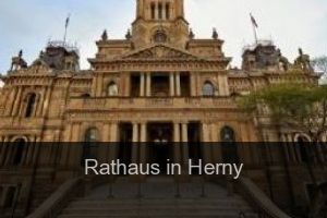Rathaus in Herny