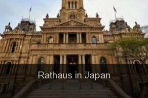 Rathaus in Japan