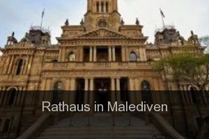 Rathaus in Malediven
