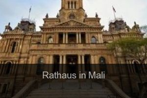 Rathaus in Mali