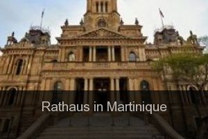 Rathaus in Martinique
