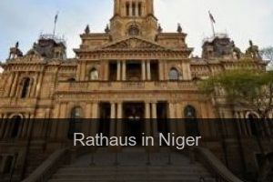 Rathaus in Niger