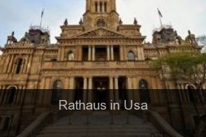 Rathaus in Usa